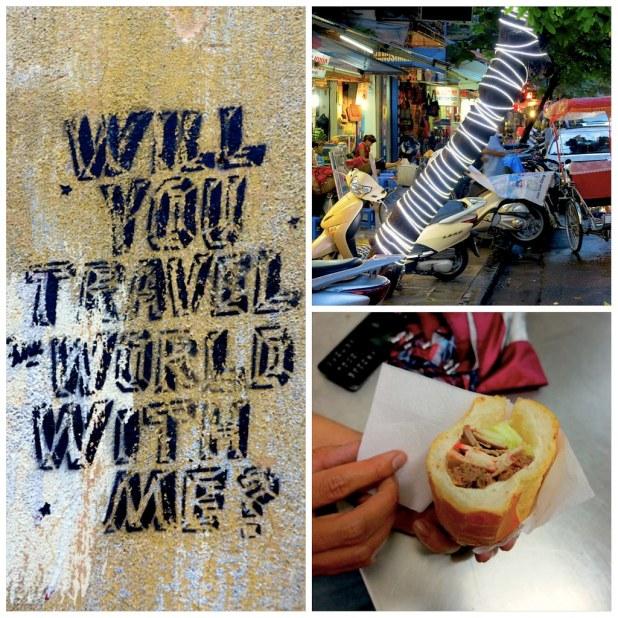 Comida callejera Hanoi