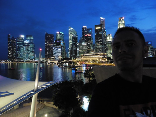 Mirador gratis, situado en Esplanade Theatres on the Bay, en Singapur
