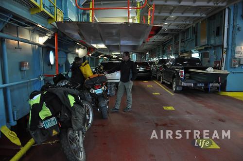 Baie-Comeau to Matane ferry