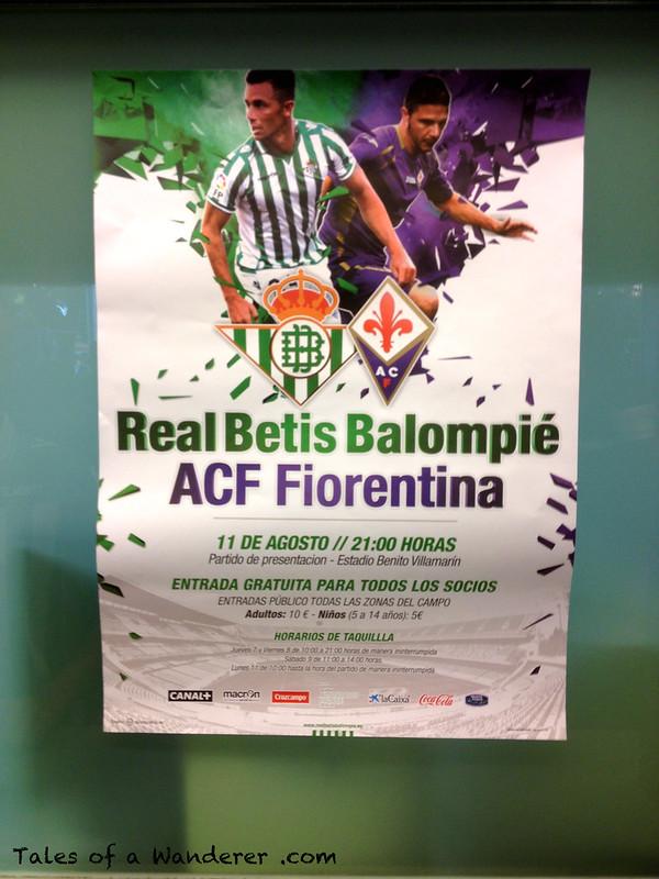 SEVILLA - Estadio Benito Villamarín - (Real Betis Balompié - AFC Fiorentina)