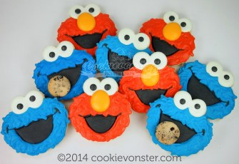 Elmo and Cookiemonster