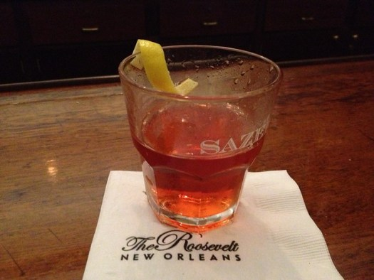 Sazerac Bar at the Roosevelt Hotel, New Orleans