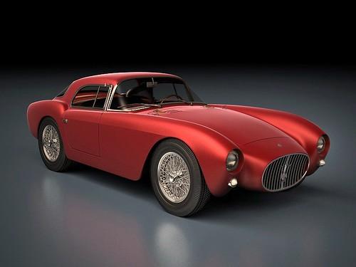 1954 Maserati Farina Coupe 4 low