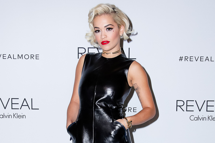 Rita Ora at the Calvin Klein Reveal launch