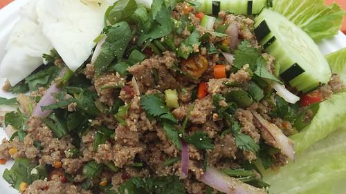 Laotian food cart