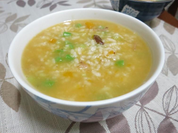 滷肉蔬菜粥 (1)