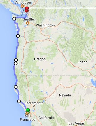 Pacific Northwest Road Trip