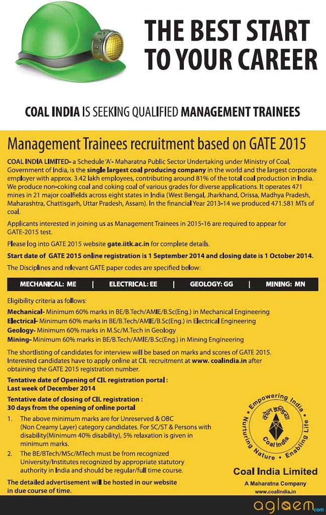 CIL Recruitment 2015