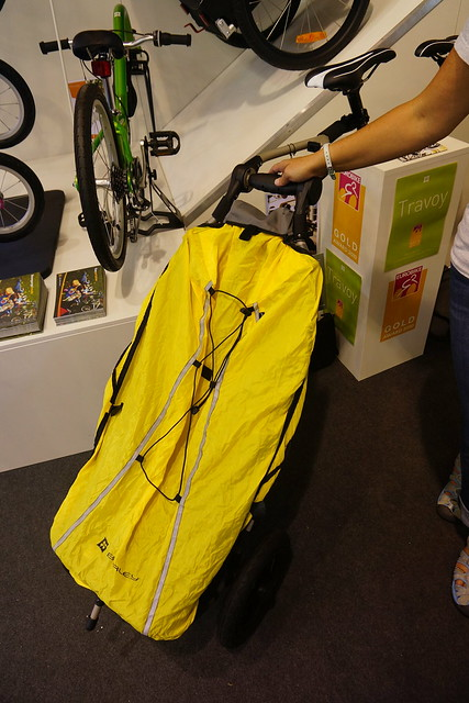 Eurobike 2014: Burley Travoy light trailer