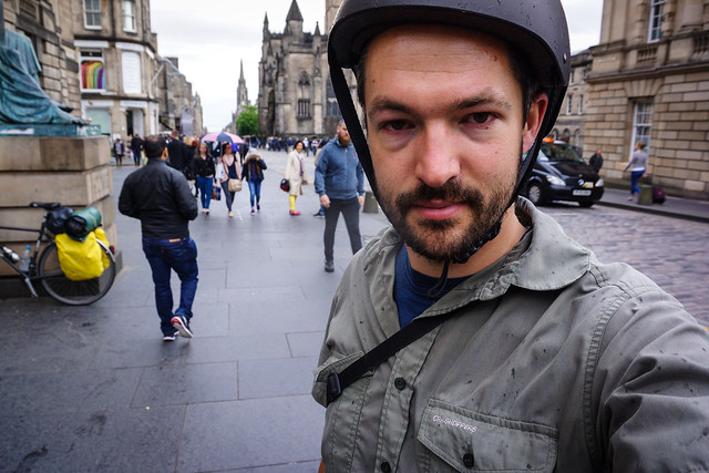 Selfie on the Royal Mile