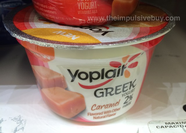 Yoplait Greek Caramel
