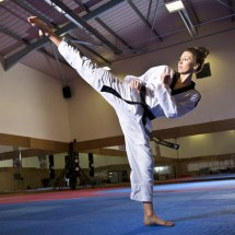 Taekwondo High Kick Girl