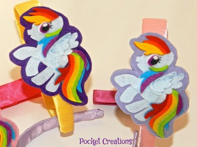 Cerchietto Rainbow Dash