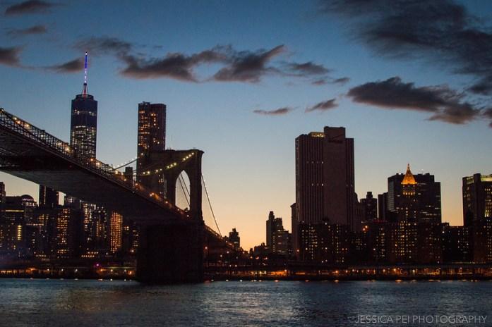 Manhattan Cityscape after Sunset