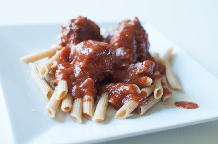 Spaghetti and Meatballs 1