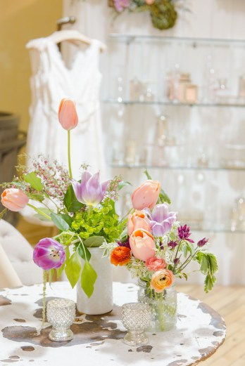 Floral Display at Anthropologie