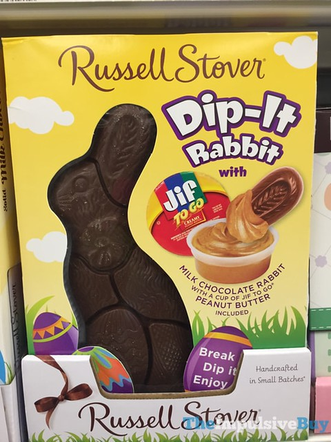Russell Stover Dip-It Rabbit with Jif Peanut Butter