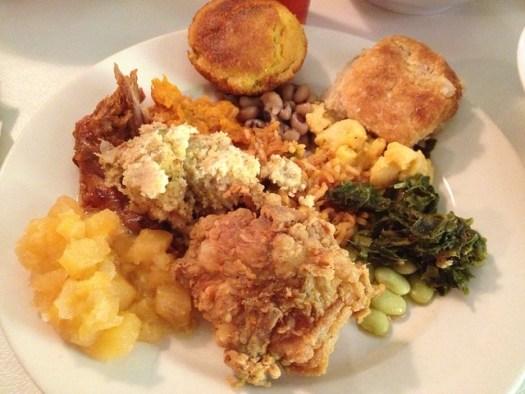 Mrs. Wilkes\' Dining Room • Deep Fried Kudzu