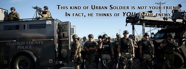 Urban Soldiers against the Citizens