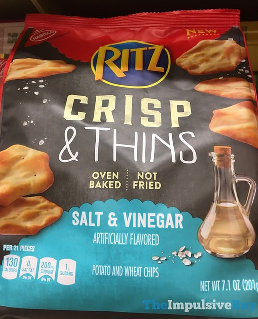 Ritz Salt & Vinegar Crisp & Thins Chips