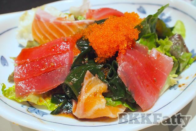 sushimi salad hou yuu asoke bangkok