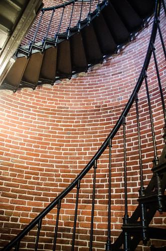 Heceta Head Lighthouse Staircase