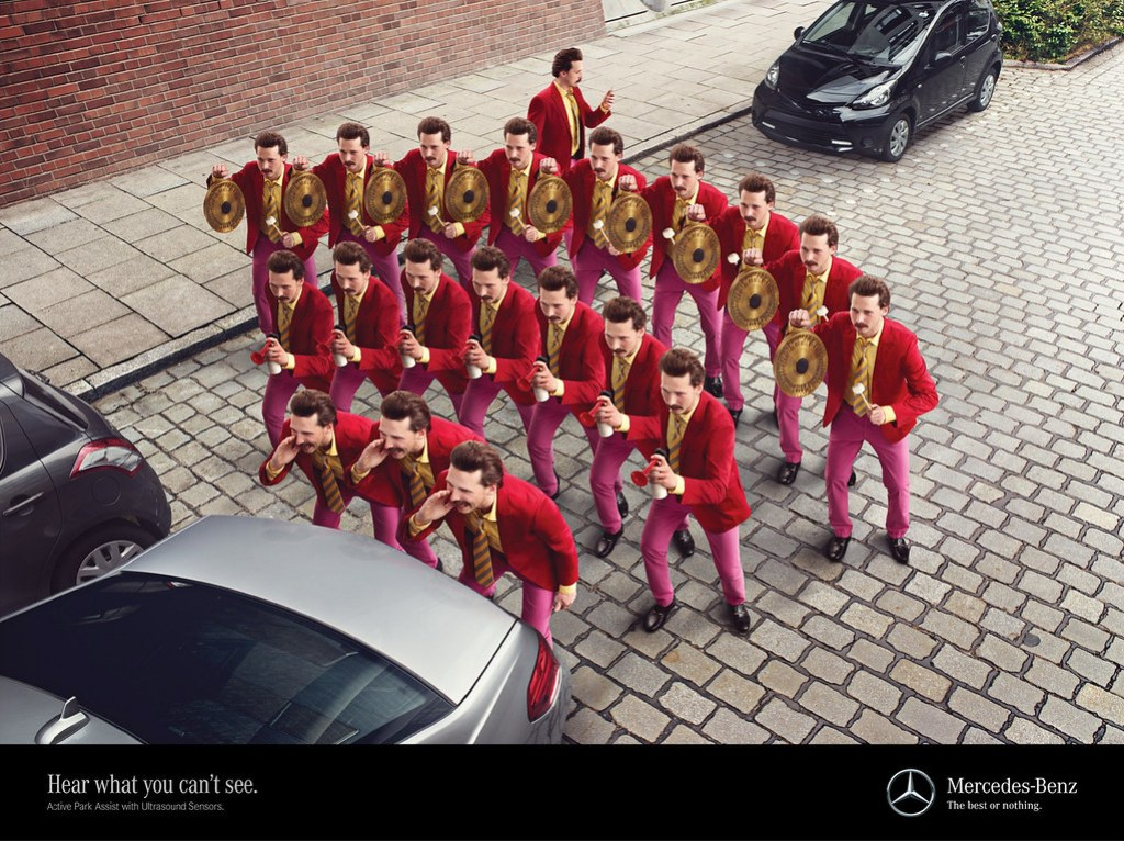 Mercedes - Hear what you can't see 1