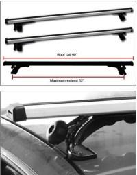 universal roof rack bike mount and fairing