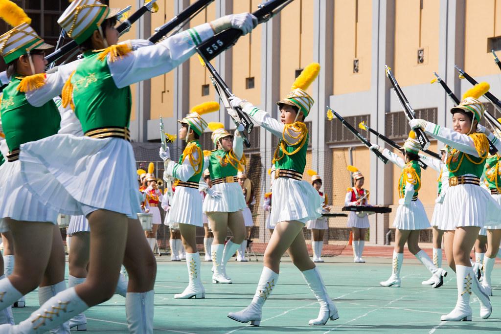 北一女中樂儀隊學校日表演 | Yu-Cheng Hsiao | Flickr