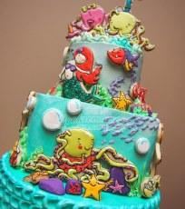 """O'Shae the Octopus"" cake"