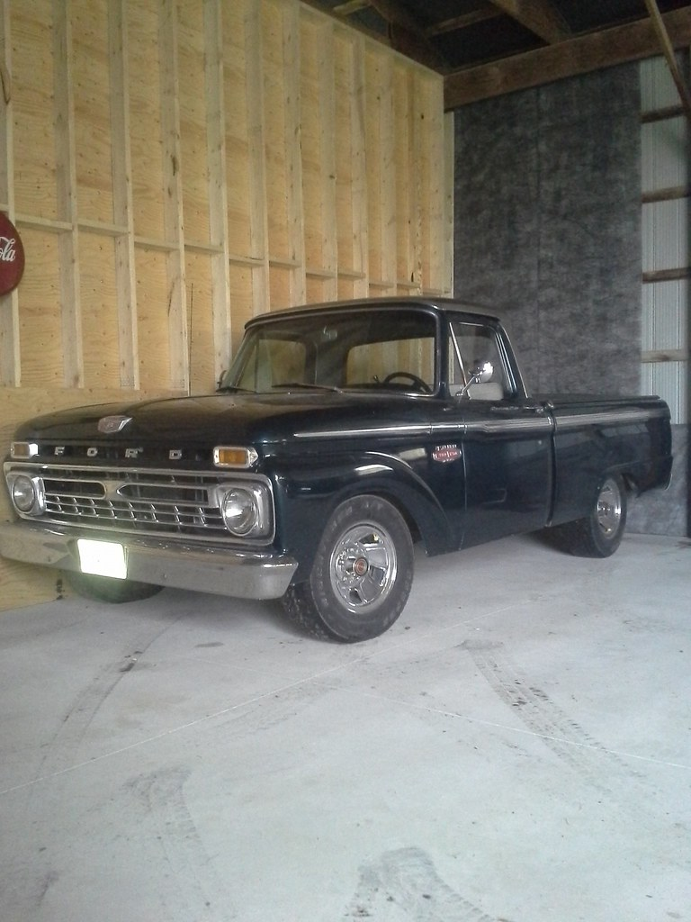 medium resolution of 66 ford f100 fleetside lowered 4 inches in the rear 3 inches in front powers buy big block 428 automatic trans