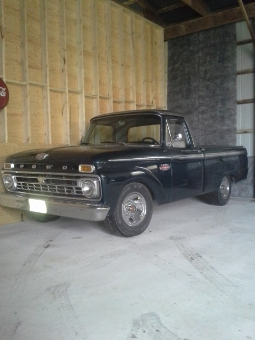 small resolution of 66 ford f100 fleetside lowered 4 inches in the rear 3 inches in front powers buy big block 428 automatic trans