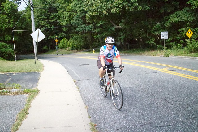 Climb from Port Jefferson to Belle Terre