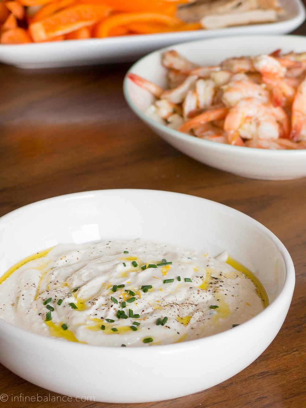 Creamy Feta Dip | infinebalance.com   #recipe
