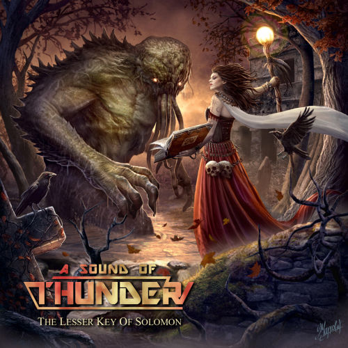 Cover of The Lesser Key Of Solomon by A Sound Of Thunder
