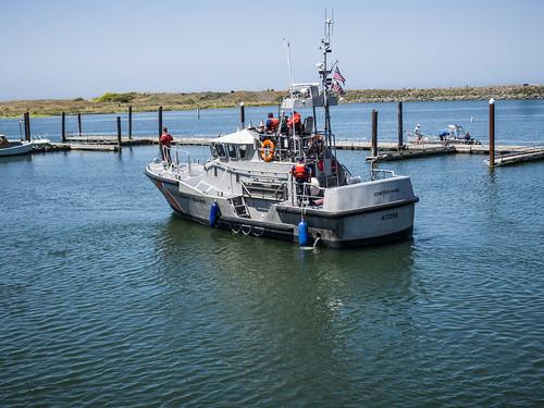 Coast Guard Boat at Bandon