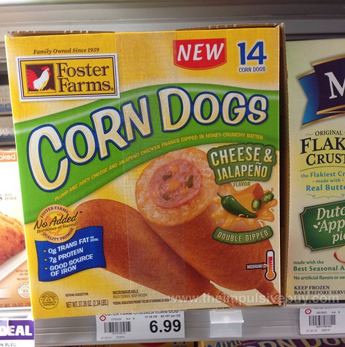Foster Farms Cheese & Jalapeno Corn Dogs