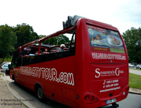 Vilnius City Tour Bus