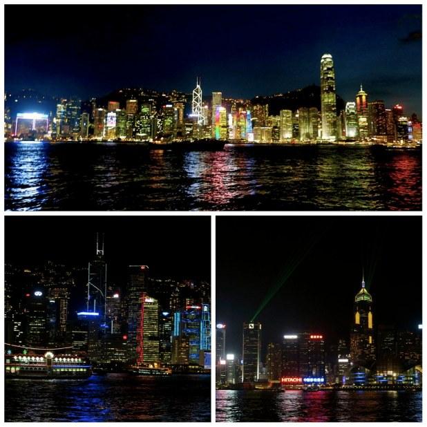 Espectaculo luz y sonido Hong Kong