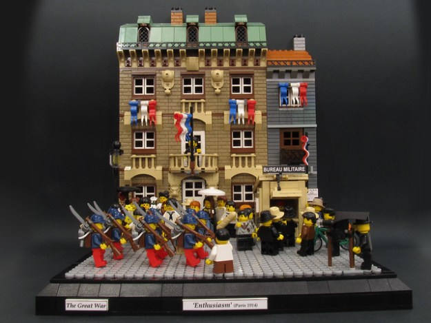 Lego world war i archives the brothers brick the for Siege lego france