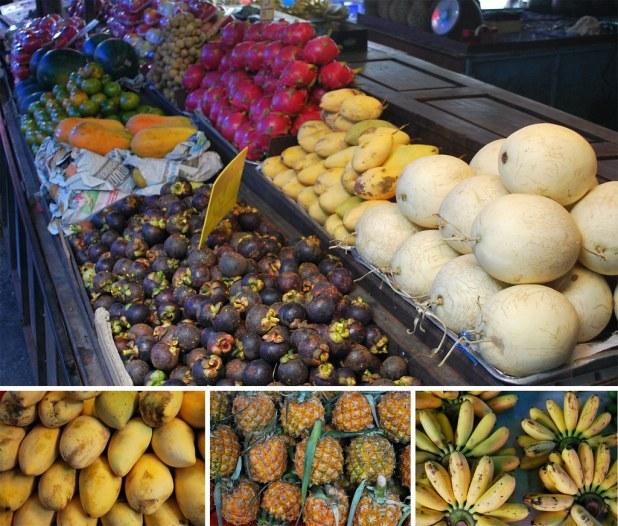 Frutas del sudeste asiático