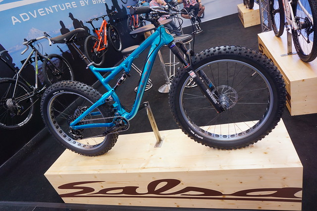 Eurobike 2014: Salsa Bucksaw full suspension fatbike