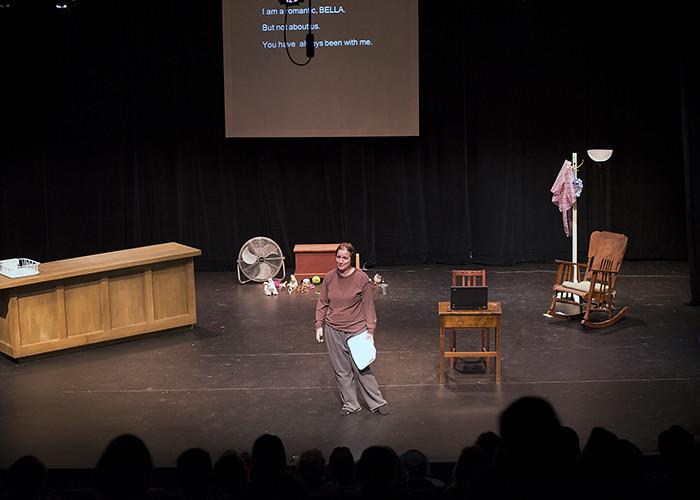 PHOTOS: 'The Misanthrope and the Little Buddha' by Kat Bullington. 09/11/14   NEPA Scene