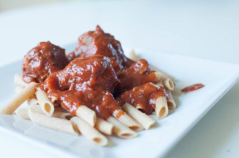 Spaghetti and Meatballs 4