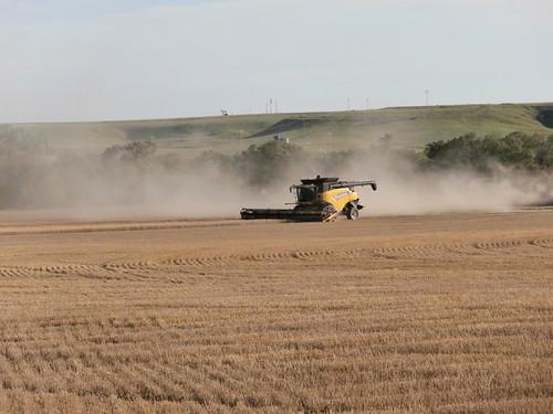 Finishing up a field