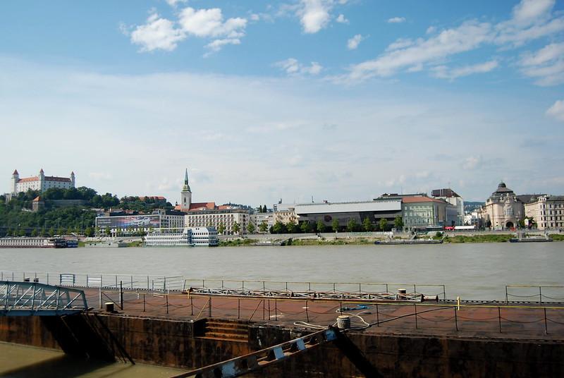 Bratislava, Danube River