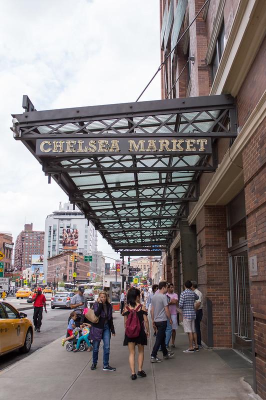 Chelsea Market in Manhattan New York City