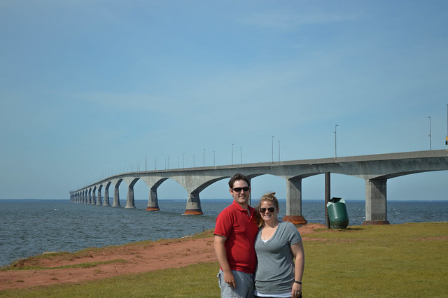 Confederation Bridge from PEI