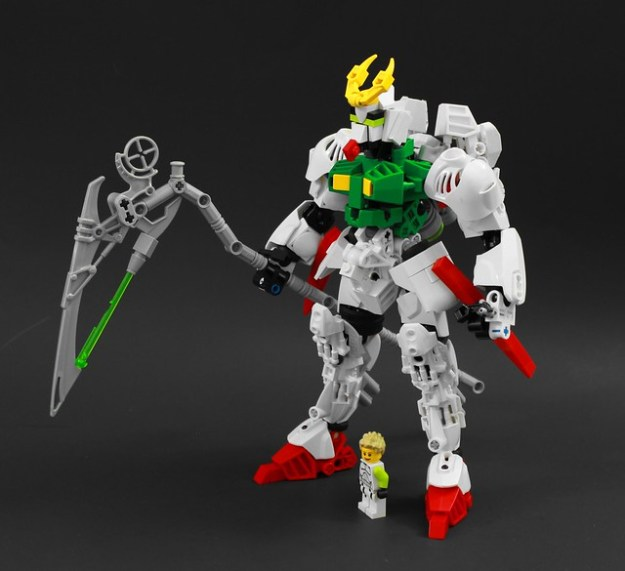 OZ-16MS Gundam Cronius - 白いレンガが不足して