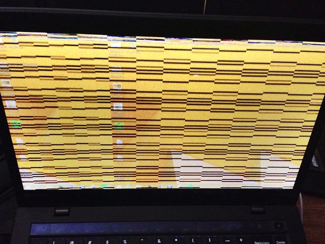 ThinkPad x1 Carbon Carpet screen issue